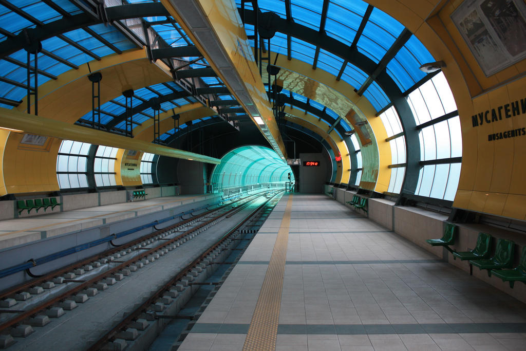 Metro station I by CULAter-stock
