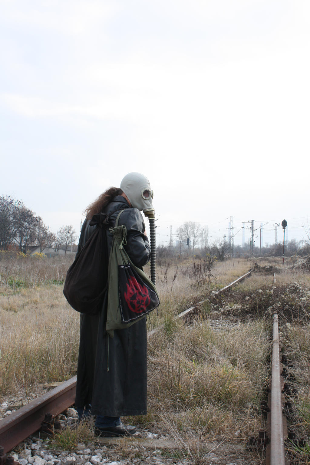 Gas mask VII