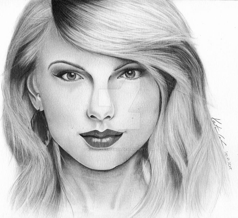 TAYLOR SWIFT by KathrynAmanda