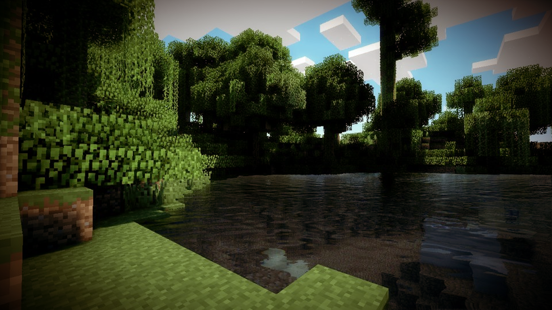 Minecraft Shaders + Realistic Water by maxiesnax on DeviantArt