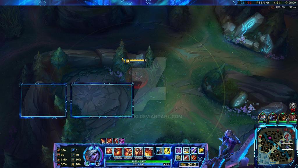 Project Ashe Overlay League Of Legends by Kireaki on DeviantArt