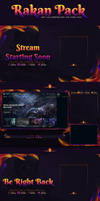 RAKAN STREAM TWITCH FULL PACK by Kireaki
