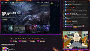 Be Right Back Rakan stream overlay by Kireaki