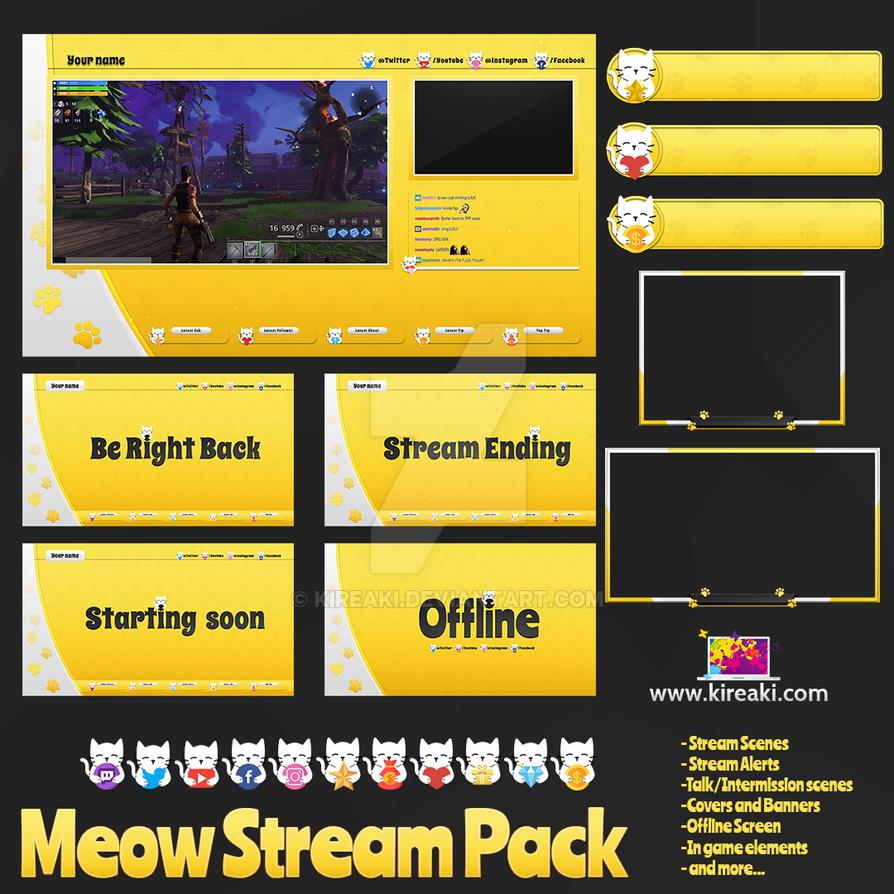 Meow-stream-bundle-pack by Kireaki