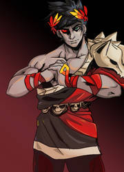 Zagreus from Hades by IGuanche