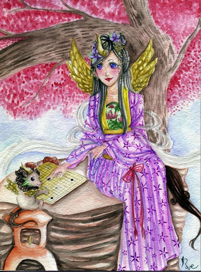 Pi-xiu Princess by rave-kunn