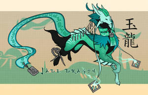 FREE LEGENDARY RAFFLE ~Jade Dragon~ ~Closed~ by Spirit2quil
