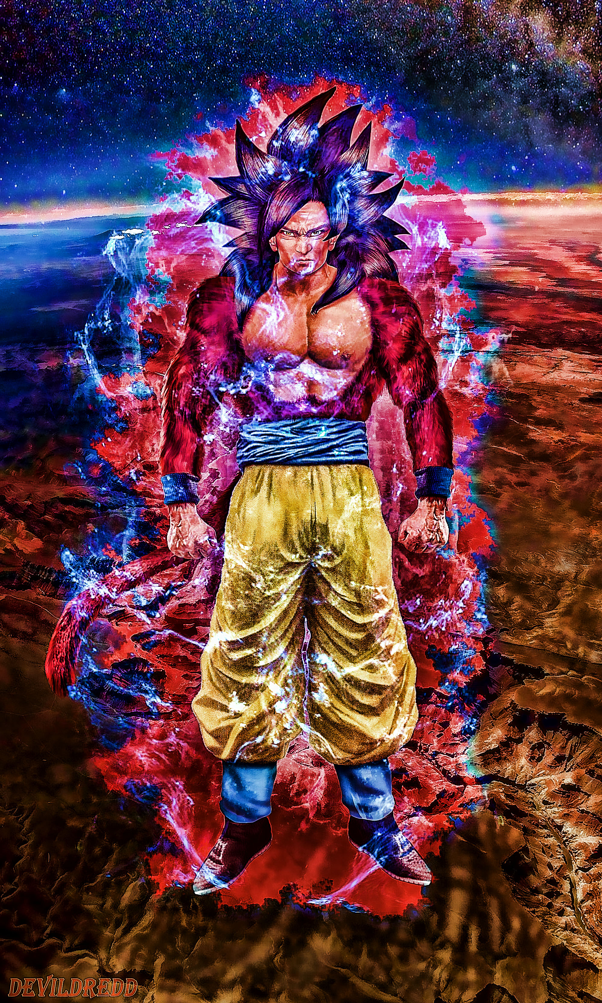 Goku Ssj4 by devildredd