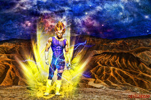 vegeta by devildredd
