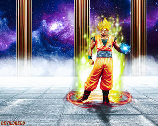 Goku by devildredd