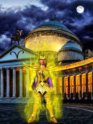 GoldSaint Belier by devildredd