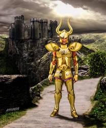 goldsaint capricorn by devildredd