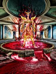 goldsaint Scorpion by devildredd