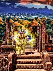 Goldsaint vierge by devildredd