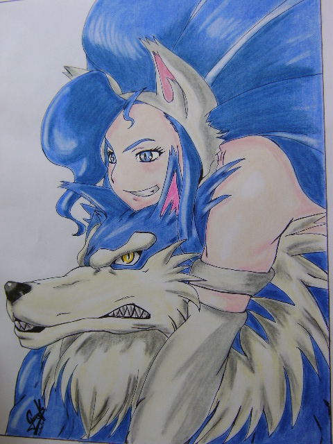 felicia and jon talbain by elartificioso