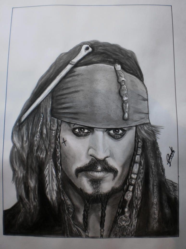 Jack Sparrow by elartificioso