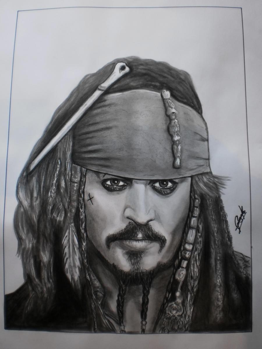 Jack Sparrow by elartificioso