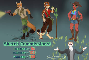 Sketch commissions [OPEN]