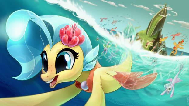 Princess invites you to a sea party!