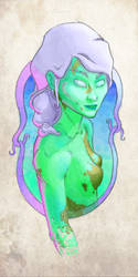 Femme aqua by Fareons