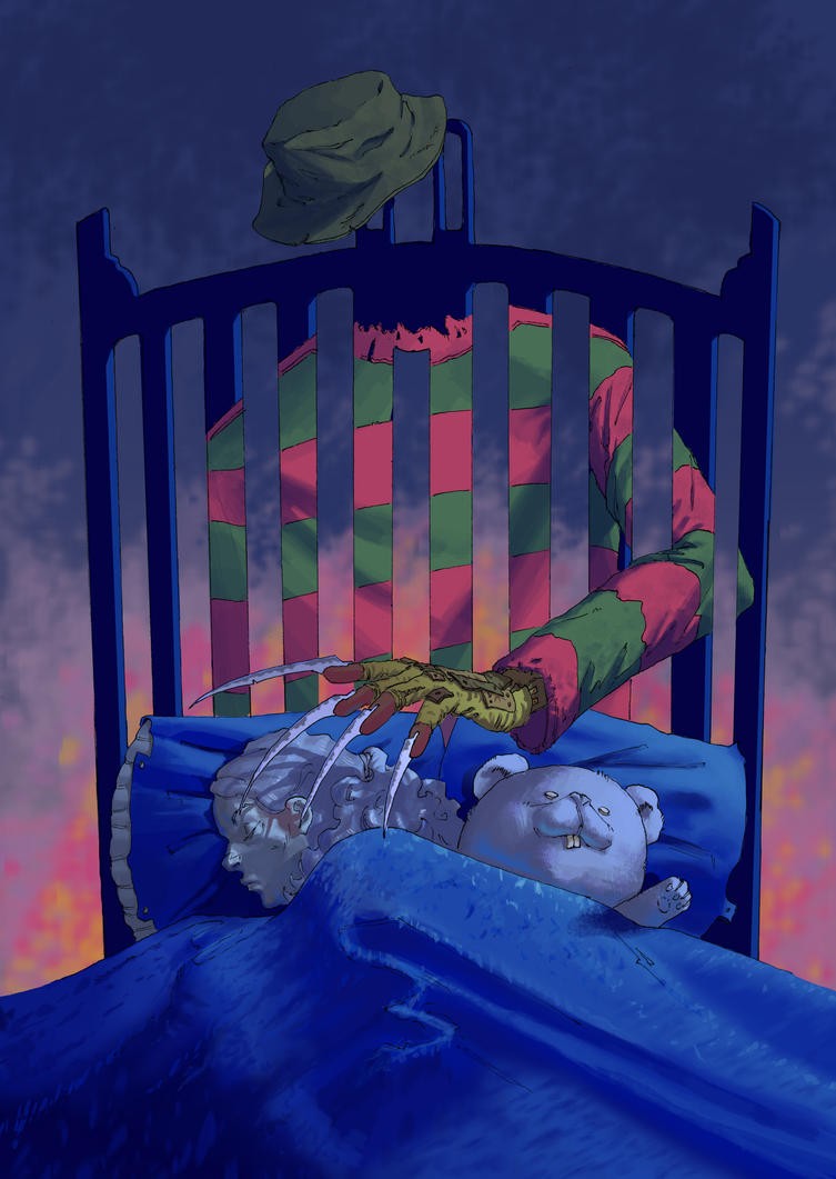 Haunted sleep, by Mr. Krueger by Fareons