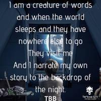 Insomniac poetry