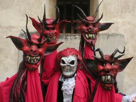 Diablo Masks by Bizarrote