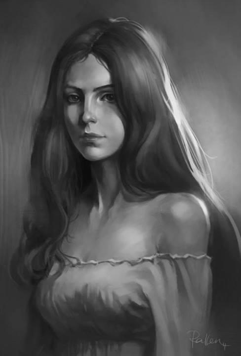Female portrait by KoweRallen