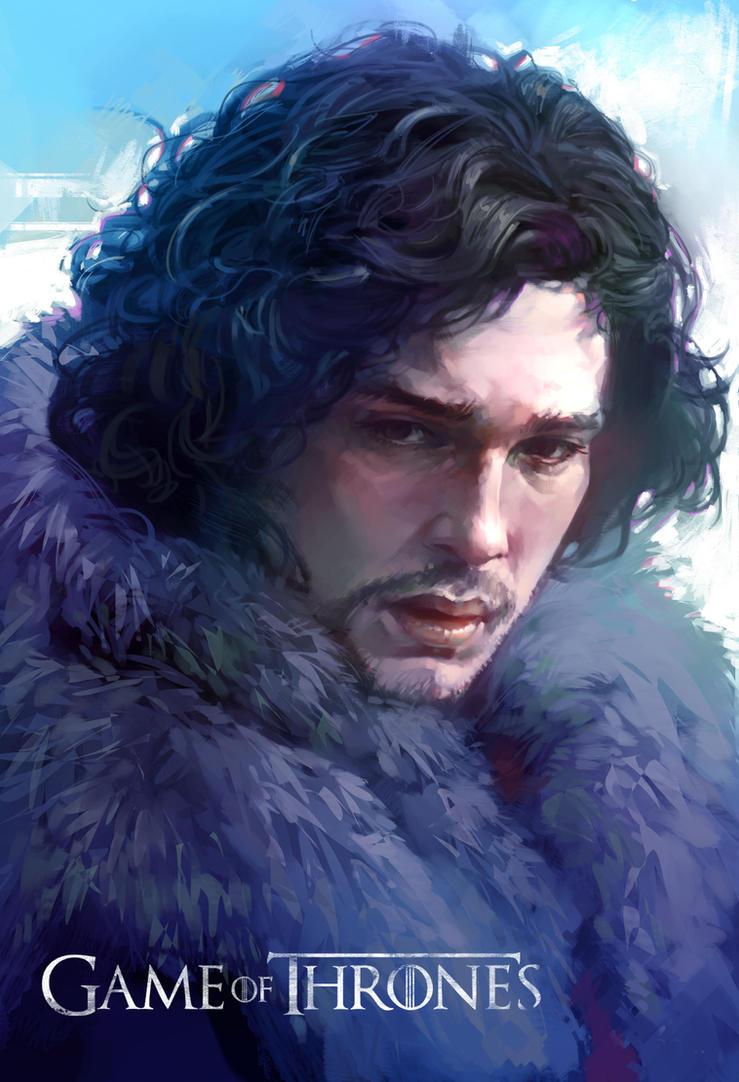 Game of Thrones-Jon Snow by KoweRallen