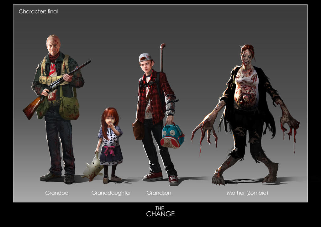 The Change-Characters design by KoweRallen