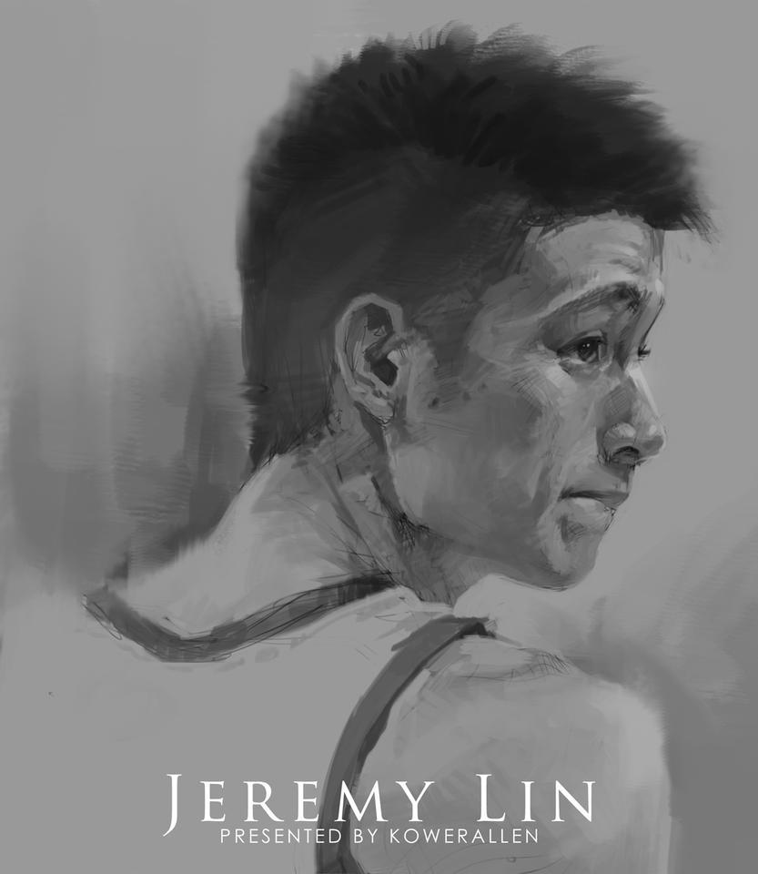 Jeremy Lin by KoweRallen
