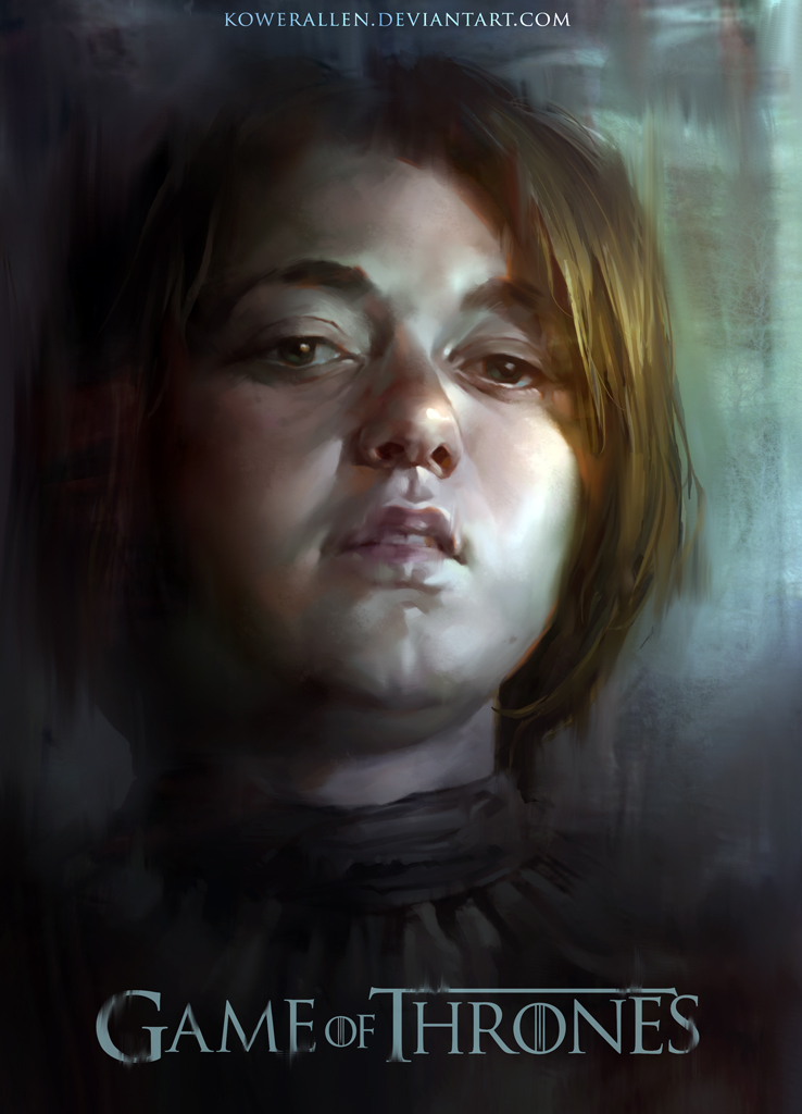 Game of Thrones - Arya by KoweRallen