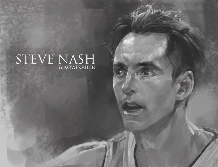 Steve nash by KoweRallen
