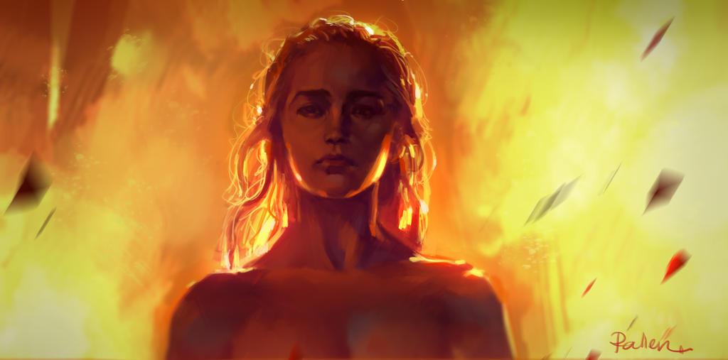 Daenerys Targaryen by KoweRallen