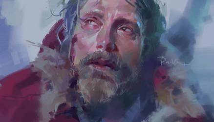 100 Portraits Challenge - 16/100 (Mads Mikkelsen)