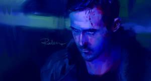 100 Portraits Challenge -Ryan Gosling