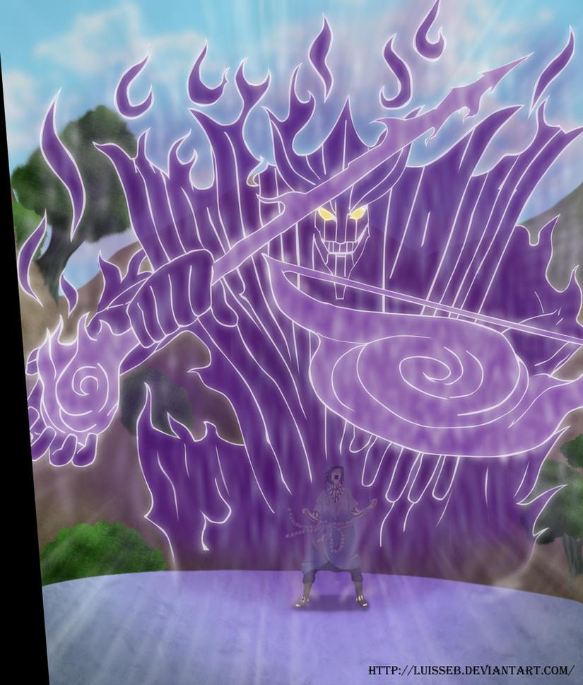 Madara's Susano vs. Itachi's Susano and Sasuke's Susano