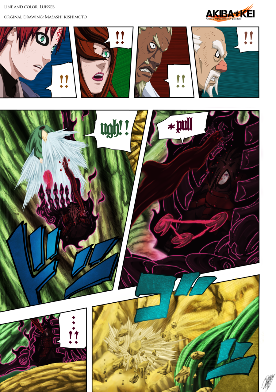 Naruto pag 5 manga 579 full color by Luisseb on DeviantArt