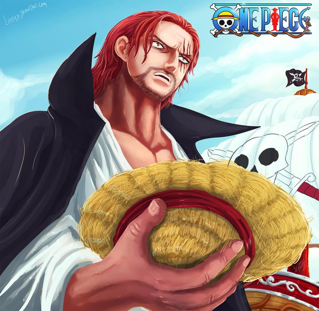 The Arrival of the Yonkou Akagami no Shanks by Luisseb
