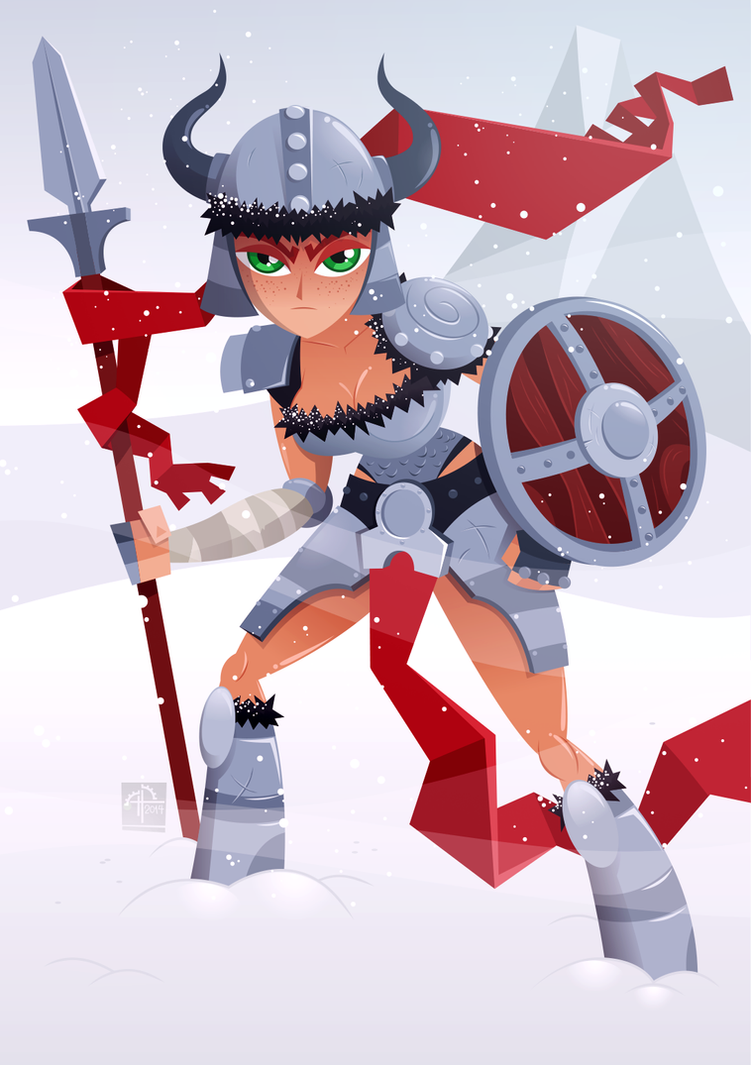 Viking Girl(final) by placitte2012