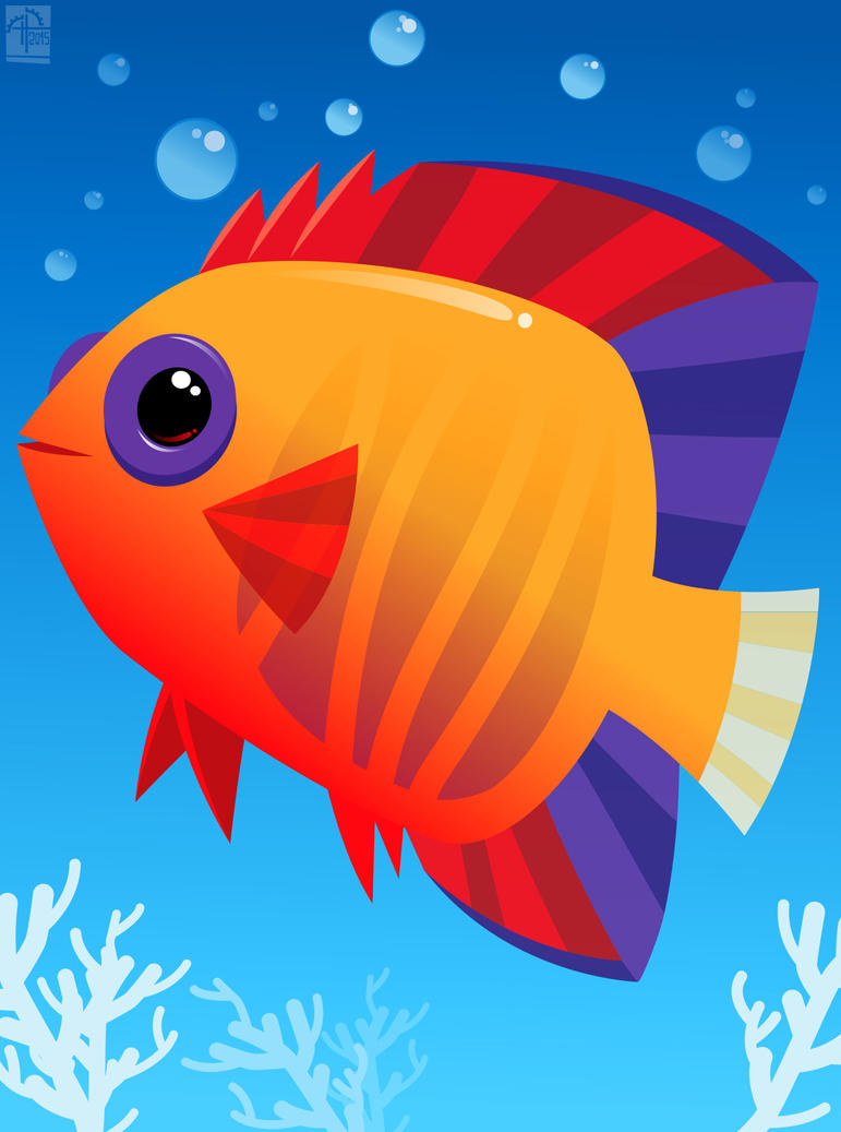 Tropical Fish 02 by placitte2012