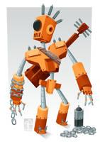 Robot Rock by placitte2012