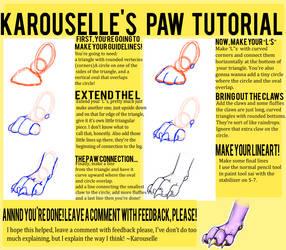 Paw Tutorial by Karousellia