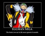 Eggman Nega Poster