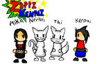 Zippy Kenpai Cast Pic