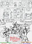 HAPPY BDAY SILKY-collab comic-