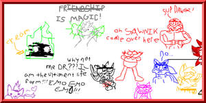 My meme Sonic Creeps I mean MasterPieces by TeenPioxys101