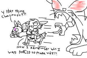 Fun Doodles- Kitty Beserk by TeenPioxys101