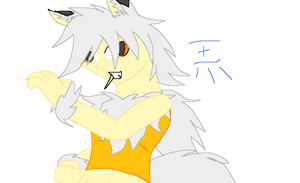 Another Fun Picture Of Dante On MsPaint by TeenPioxys101