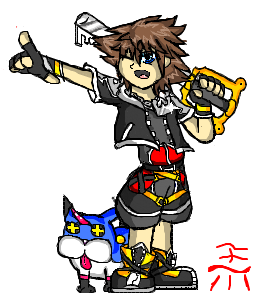 To The Realm Of Sleep (Sora and Meow Wow) by TeenPioxys101